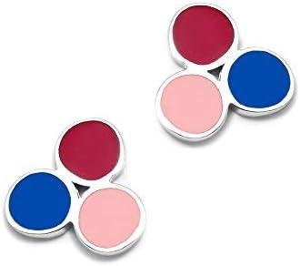 Set Agatha Ruiz de la Prada orologio AGR260 orecchini rosa d\'argento cerchi colorati Act 925m trio - Modello: AGR260