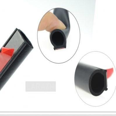 Stickerslab Verdunkelungsfolie 4 M Gummidichtung Selbstklebend Innenraum Tür Auto A D Isolierung Baumarkt