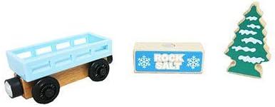 Cargo Block Tree Thomas /& Friends Wood Snowy Rails Set Replacement Cargo Car