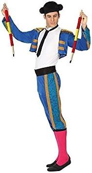 Oferta amazon: Atosa-26810 Atosa-26810-Disfraz Torero-Adulto M a L- Hombre- azul, Color (26810)