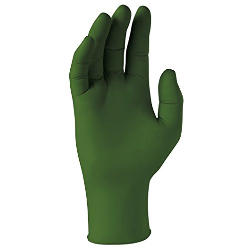 Kimberly-Clark Forest Green Nitrile Exam Gloves (43444), 3.5 Mil, Ambidextrous, 9.5, Small, 200 Nitrile Gloves / Box, 10 Boxes / Case, 2,000 / Case