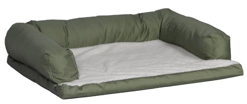 MidWest Quiet Time e'Sensuals Bolstered Orthopedic Dog Bed S
