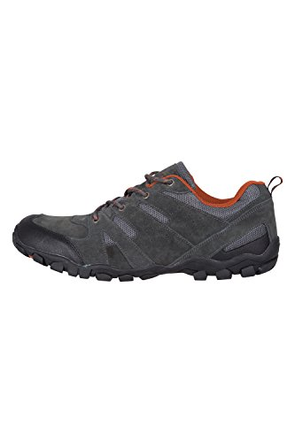 Di Ambulanti Mountain Leggeri Pattini Outdoor Hiking Scamosciata Scuro Pattini Mens Breathable Suola 42 E Estate I Pelle Grigio Esterni Che Warehouse Duraturi Gomma twAAqXr4