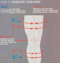 EVS Sports 212040-3036 AXIS Knee Brace