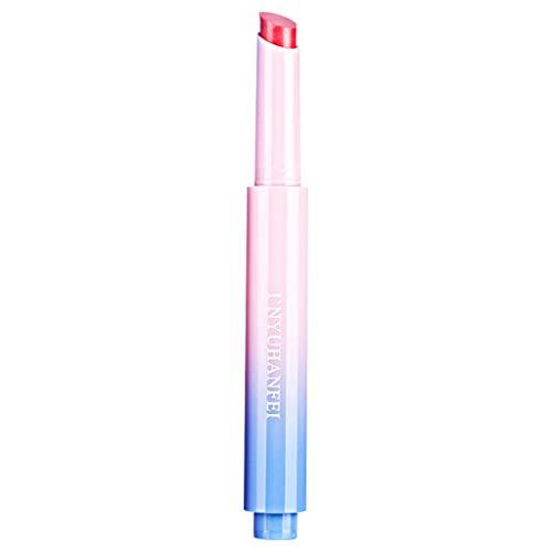 AHAYAKU Ladies Beauty Makeup Waterproof Sexy Hydrating Long Lasting Lip Gloss Lipstick Red]()