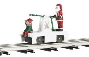 Used, Williams By Bachmann Christmas Santa & Elf O Scale for sale  Delivered anywhere in USA