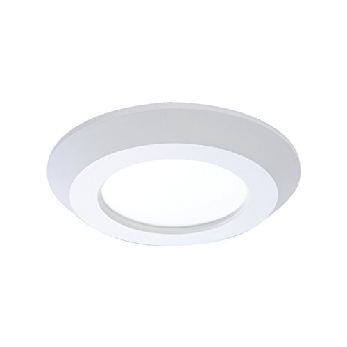 "HALO SLD405827WHJB SLD 4"" Integrated LED Recessed Trim Downlight 80 CRI 2700K CCT with Junction Box, White"