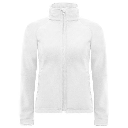 B Respirante Coupe Imperméable vent amp;c Softshell Femme Et Veste Blanc rq4wvRr