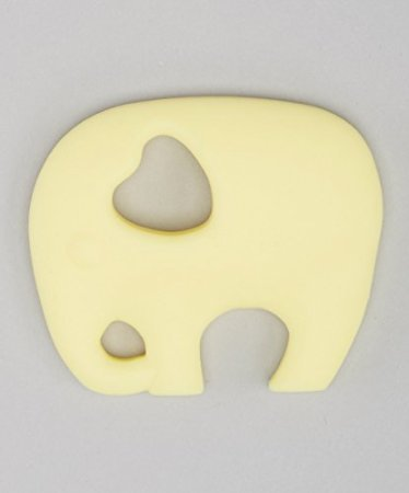 ELLIE THE ELEPHANT TEETHING TOY - BANANA CREAM by Flawless