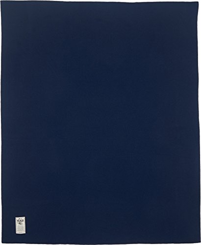 (Woolrich Home Solid Throw Blanket, Navy)