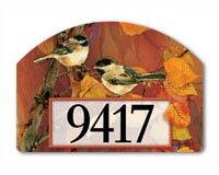 Yard Design Autumn Chickadees Yard Sign 76396 - Magnetic Yard