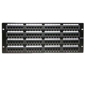 InstallerParts Cat 6 110 Type Patch Panel 96 Port Rackmount