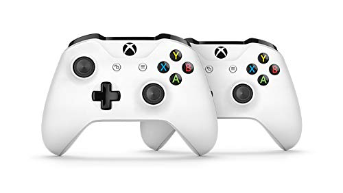 Xbox One S Two Controller Bundle (1TB) Includes Xbox One S, 2 Wireless Controllers, 3-Month Game Pass Trial, 14-day Xbox Live Gold Trial  by  (Image #4)