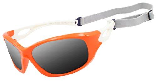VATTER Silica Gel Unbreakable Polarized Sport Sunglasses For Kids Boys Girls Youth ()