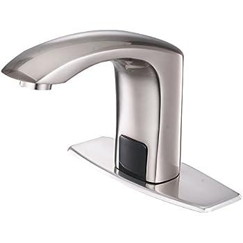 Amazon Com Brushed Nickel Touchless Bathroom Kitchen
