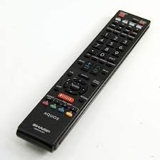 Original Sharp GB005WJSA Remote Control Replacement