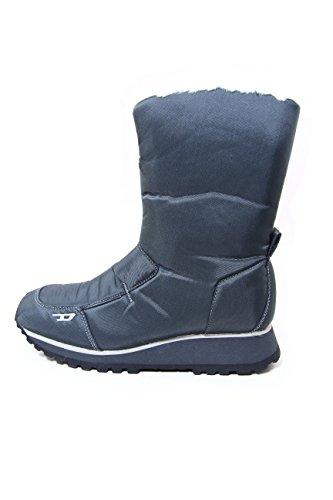 Diesel Nylon/Synthetic Fleece Women Winter Boots Mila Silium EU40