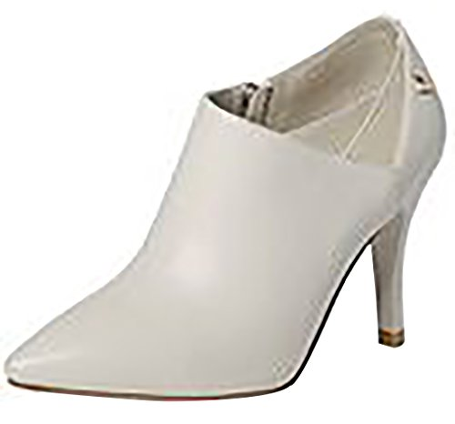 Women's Leather Bootie Beige Laruise Women's Laruise Ezqn1RW7t