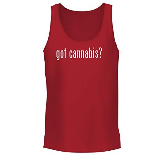BH Cool Designs got Cannabis? - Men's Graphic Tank Top, Red,