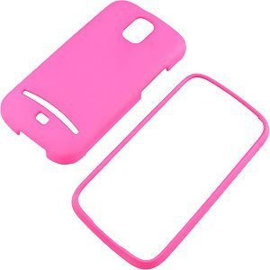 Hot Pink Rubberized Protector Case for Samsung Galaxy S Relay 4G T699