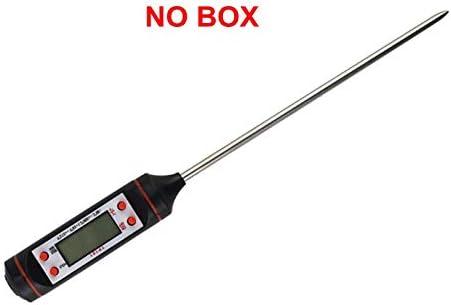 盛世汇众 TermómetroデジタルデCOCINA、SONDAパラカルネ、termómetroパラcocinar、カルネ、バルバコア、SONDA、medidor・デ・温度 (色 : NO BOX)