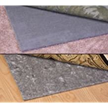 Duo-Lock Reversible Felt and Rubber Non-Slip Rug Pad, Size: 3' x 5' Rug Pad