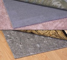 8 x 10 Rug Pad Size Duo-Lock Reversible Felt and Rubber Non-Slip Rug Pad Size 8/' x 10/' Rug Pad MSM Industries DL8X10F