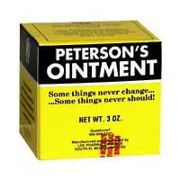 Petersons dry skin ointment tin - 3 oz