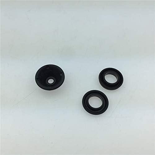 NO LOGO XFC-Zhi for la Moto Pompe ma/ître-Cylindre Pompe de Frein Joint de Piston Joint Pr/évention poussi/ère Kits de Composants de r/éparation 19mm Trois pi/èces