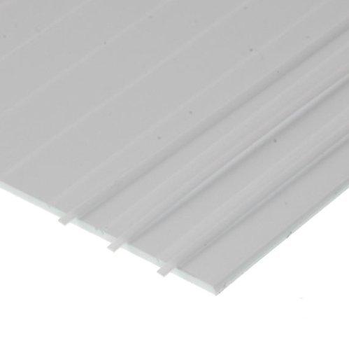 Evergreen Styrene Metal Roofing 6.3mm (1/4