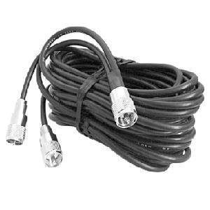 ProComm 18Ft Dual CB Coax Co-Phasing Harness with PL259 x 3