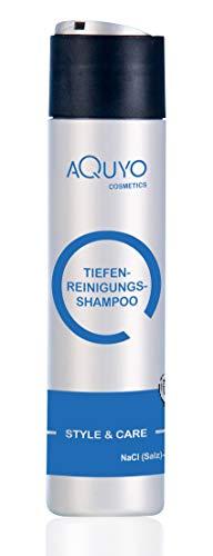 Style & Care Tiefenreinigung Shampoo zur Haarpflege, entfernt Klebereste und Rückstände aus dem Haar (250ml) | Reinigungsshampoo und Pflegeshampoo ein Einem | ohne Silikone, Salze oder Parabene
