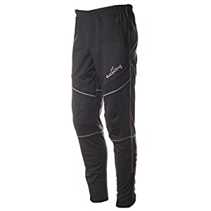 4ucycling Men's Athletic Outdoor Fleeced Thermal Work Out Pants Xl Black 4xl-gangsuo
