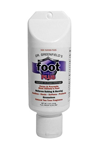 Dr Greenfield's FootShield PLUS Antifungal Foot Cream for Athlete's Foot - 5 ounces