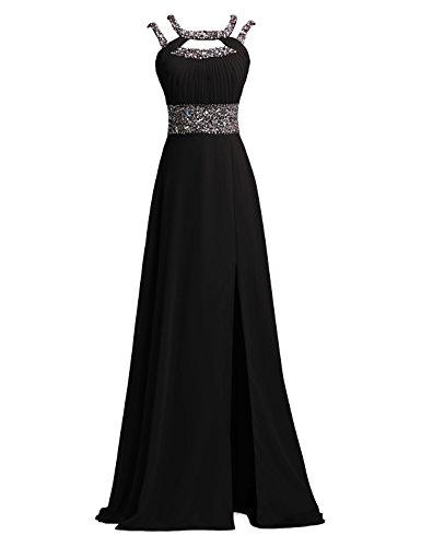 long black evening dress size 10 - 9