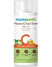 Mamaearth Vitamin C Toner For Face, with Vitamin C & Cucumber for Pore Tightening 200 ml