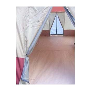Amazon.com : 16' x 10' - 3 ROOM Family Cabin Tent, With