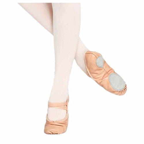 Pantofole Da Ballo Balletto Scarpe Da Ginnastica Suola Divisa