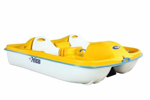 Pelican Fiji Pedal Boat, Yellow/White