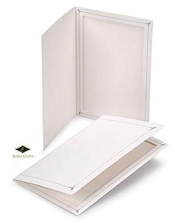 Amazoncom Better Crafts Cardboard Photo Folder 4x6 Pack Of 100