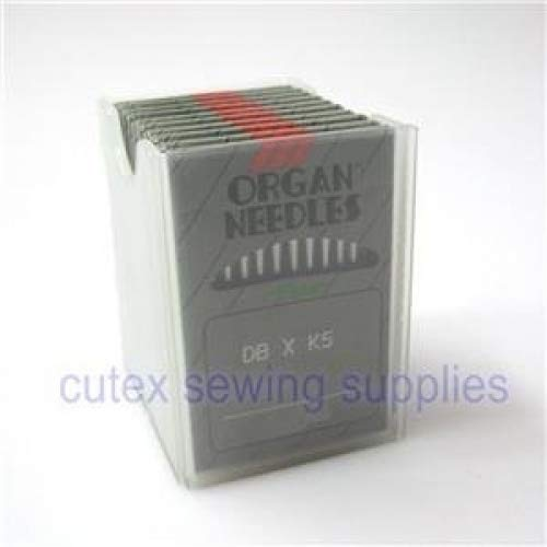 (100 ORGAN DBXK5, DB-K5 Round Shank Commercial Embroidery Machine Needles (Size 11 (metric 75)))