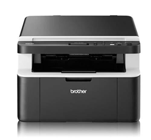 Brother DCP1612W Stampante Multifunzione Laser, Monocromatica, Risoluzione da 2.400 x 600 DPI, Wi-Fi, USB 2.0, Cassetto Carta da 150 Fogli