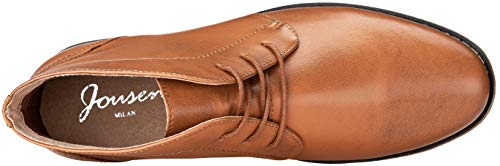 Pictures of JOUSEN Men's Chukka Boots Casual Leather 4