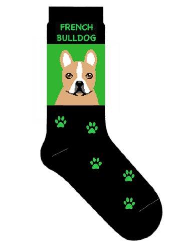 French Bulldog Novelty Dog Breed Adult Socks