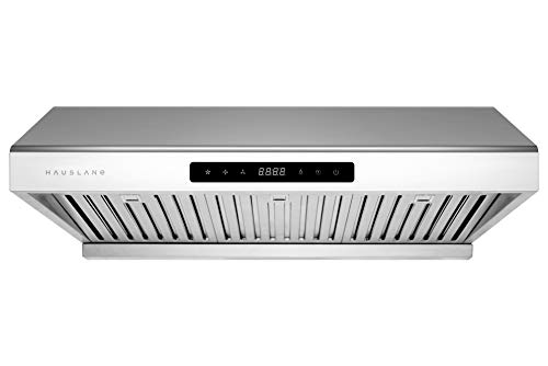 """Hauslane   Chef Series 30"""" PS10 Under Cabinet Range Hood   PRO PERFORMANCE   Stainless Steel Electric Stove Ventilator…"""