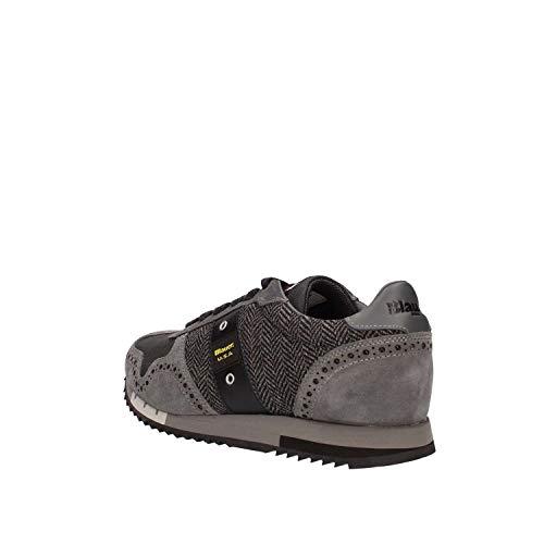 Sneakers quincy02 Dark Uomo Grey Navy Blauer dwH4fUnxqd