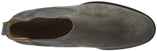 Gabor Shoes Fashion, Botas Chelsea para Mujer Gris (Lupo 10)