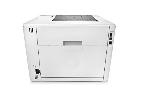 HP Laserjet Pro M452nw Wireless Color Printer, (CF388A) 4 FEATURES DESIGNED FOR YOUR BUSINESS: color laser printer, color touchscreen, wireless printing, 2-sided printing PRINT AT BUSINESS SPEED: Print up to 28 pages per minute with this wireless laser printer. First page out in as fast as 8.9 seconds for black, and 9.5 seconds for color. SOLID SECURITY: Protect sensitive information and improve compliance with data, device and document security solutions for your print fleet.