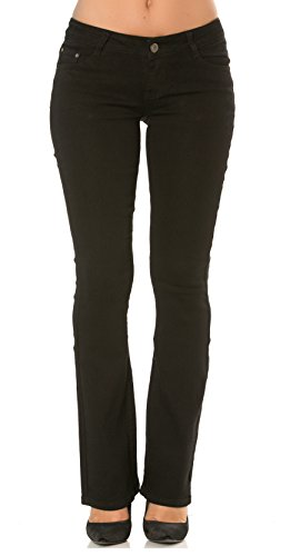 Pantalon Femme Droit Slim 3 34 Jean Bootcut Denim Chic du Bootcut Simply au 44 Skinny BUWq0cnCEg