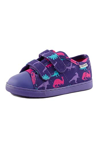 Dezzys Girl's Little (Toddler/Little Kid) Purple Dino
